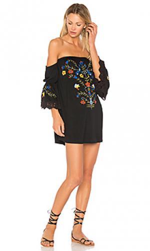 Платье fabiola VAVA by Joy Han. Цвет: черный