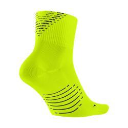 Носки для бега  Elite Lightweight 2.0 Quarter Nike. Цвет: желтый