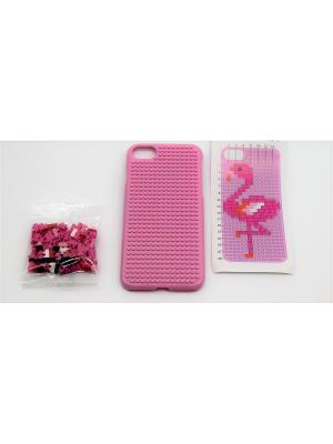 Чехол для iPhone 7 JD.ZARZIS. Цвет: розовый