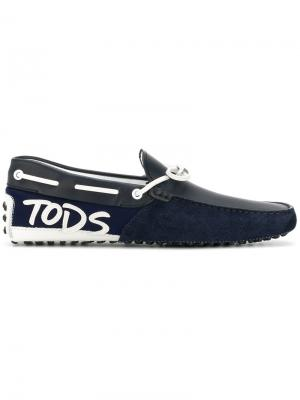 Gommino loafers Tods Tod's. Цвет: синий