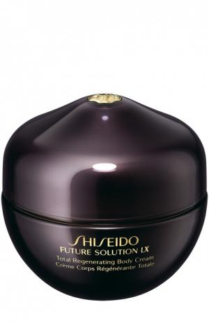 Восстанавливающий крем для тела Future Solution LX Shiseido. Цвет: бесцветный
