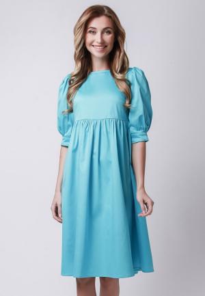 Платье Olga Skazkina. Цвет: голубой