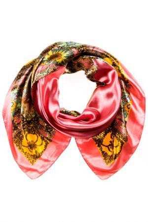 Платок Vita Pelle. Цвет: розовый, коричневый