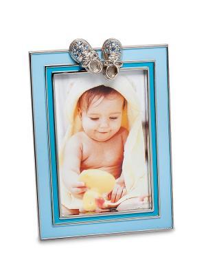 Фоторамка Маленький принц 5*8 Bellezza casa. Цвет: голубой