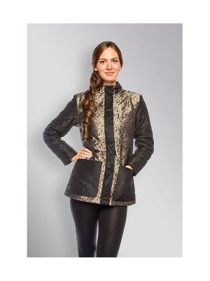 Куртка Sirenia. Цвет: золотистый