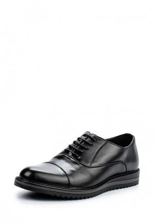 Туфли Montefiori. Цвет: черный