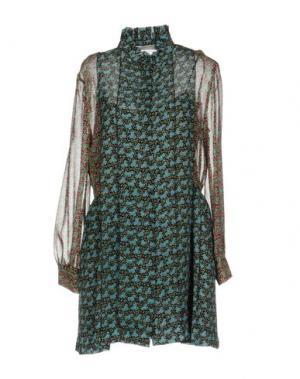 Короткое платье PHILOSOPHY DI LORENZO SERAFINI. Цвет: небесно-голубой
