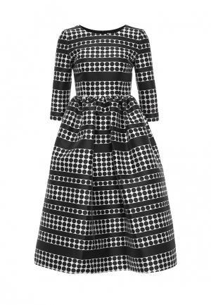 Платье 10x10 An Italian Theory. Цвет: черно-белый
