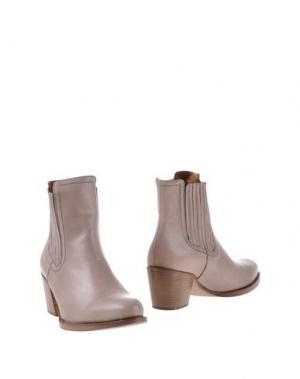 Полусапоги и высокие ботинки GUGLIELMO ROTTA. Цвет: голубиный серый