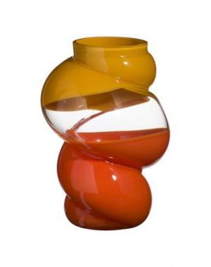 Ваза CARLO MORETTI. Цвет: оранжевый