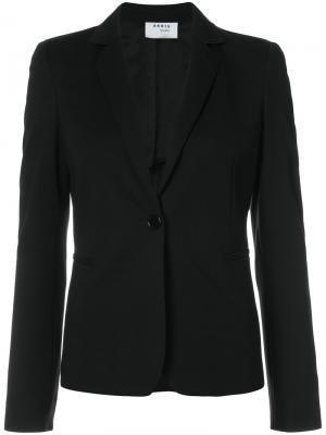 Приталенный пиджак Akris Punto. Цвет: чёрный