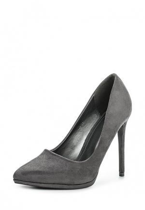 Туфли Go-Go. Цвет: серый