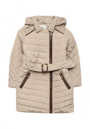 Куртка утепленная Acoola. Цвет: бежевый