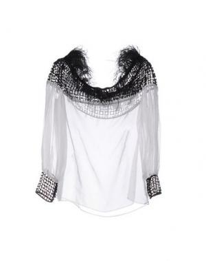 Блузка LIST. Цвет: белый