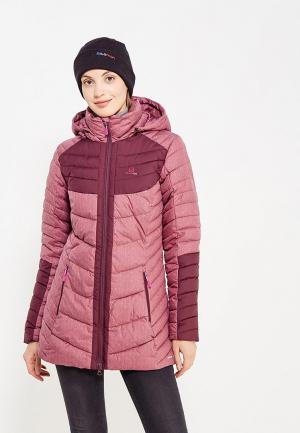Куртка утепленная Salomon. Цвет: розовый