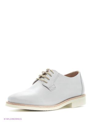 Ботинки TBS. Цвет: белый