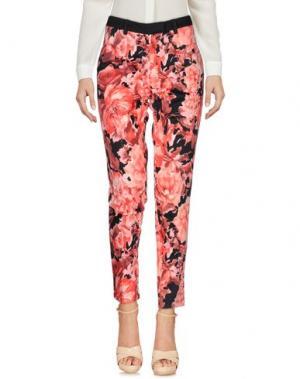 Повседневные брюки MORGAN DE TOI. Цвет: коралловый