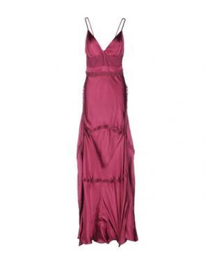 Длинное платье NOLITA. Цвет: пурпурный