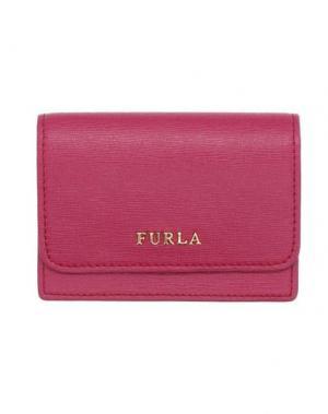 Чехол для документов FURLA. Цвет: пурпурный