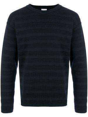 Полосатый свитер S.N.S. Herning. Цвет: синий