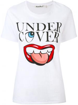 Футболка с логотипом Undercover. Цвет: белый