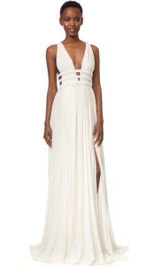Вечернее платье Jay Ahr. Цвет: оттенок белого