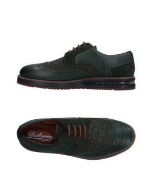 Обувь на шнурках BARLEYCORN. Цвет: темно-зеленый