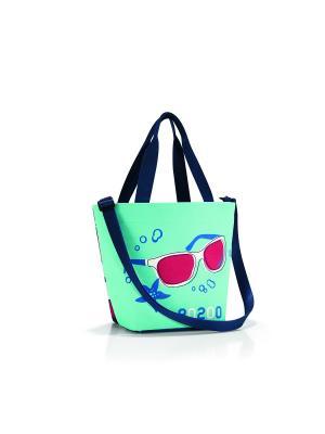 Сумка Shopper XS special edition aquarius Reisenthel. Цвет: синий, белый, красный