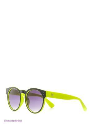 Солнцезащитные очки Vittorio Richi. Цвет: зеленый