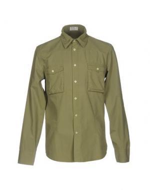Pубашка NOVEMB3R. Цвет: зеленый-милитари