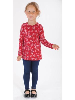 Блузка Милашка Сьюзи. Цвет: бордовый