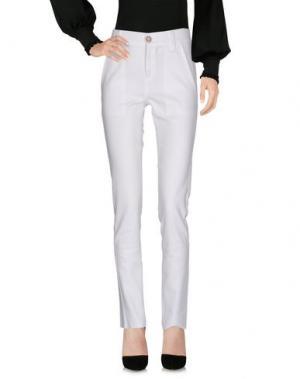 Повседневные брюки PAULIE. Цвет: белый