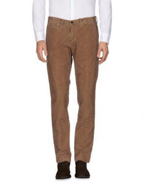 Повседневные брюки BRIGLIA 1949. Цвет: коричневый
