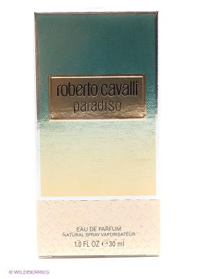 Парфюмерная вода PARADISO Roberto Cavalli. Цвет: морская волна
