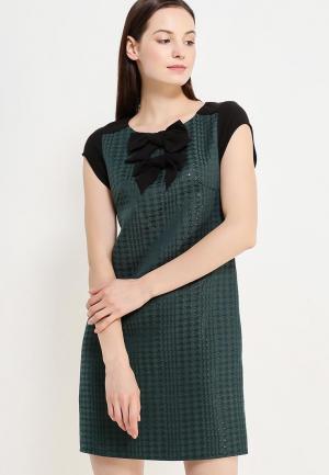 Платье Naf. Цвет: зеленый