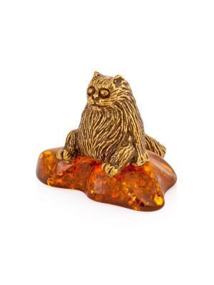 Фигура Кот Aztek. Цвет: желтый, коричневый, светло-оранжевый