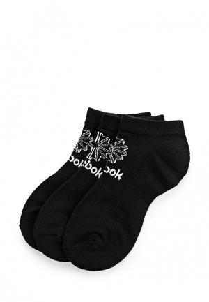 Комплект носков 3 пары Reebok Classics. Цвет: черный