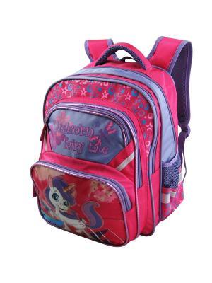 Рюкзак Stelz. Цвет: фиолетовый, розовый
