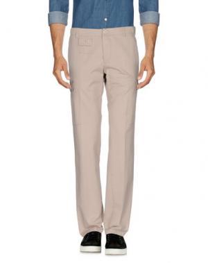 Повседневные брюки MARIO MATTEO. Цвет: бежевый
