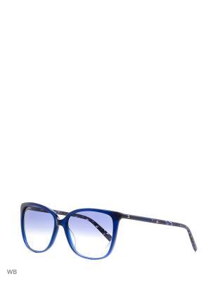 Солнцезащитные очки MAXMARA. Цвет: синий