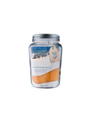 Натуральная соль мертвого моря для ванн - чувственное папайя EXTRA MINERAL. Цвет: оранжевый