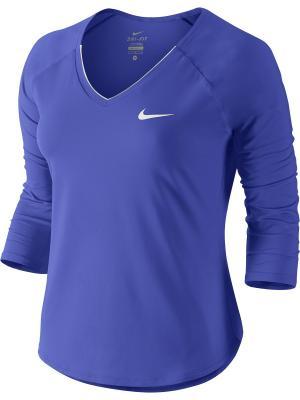 Кеды WMNS PRIMO COURT BR Nike. Цвет: синий, белый