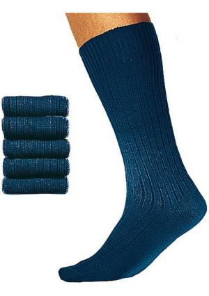 Носки, 5 пар COTTON REPUBLIC. Цвет: 5х темно-синий, 5х черный