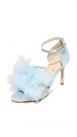 Сандалии Gigi Isa Tapia. Цвет: голубой