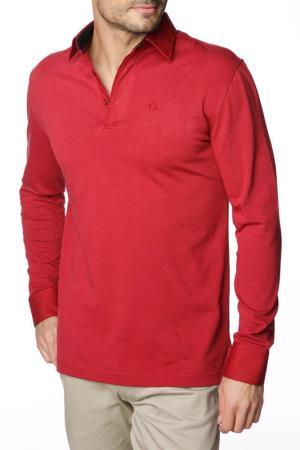 Рубашка-поло GAZOIL. Цвет: красный