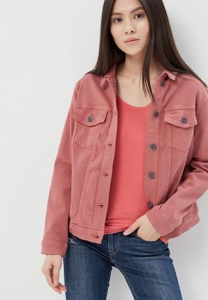 Куртка джинсовая Ichi. Цвет: розовый