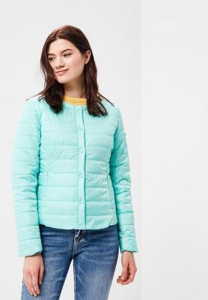 Куртка утепленная Baon. Цвет: бирюзовый