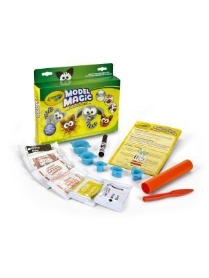Набор для творчества Пластилиновые Джунгли Crayola. Цвет: желтый