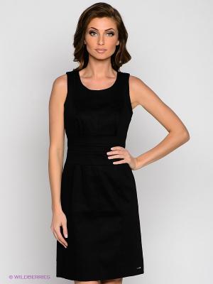 Платье VILA JOY. Цвет: черный