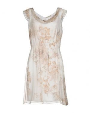 Короткое платье NERO GIARDINI. Цвет: белый